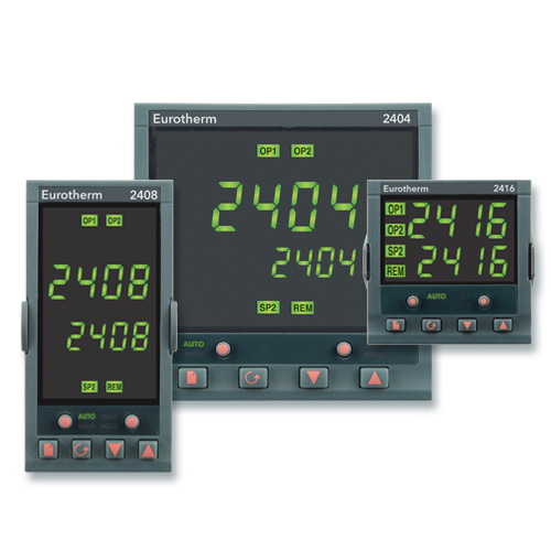 2400 Temperature Controller / Programmer | Eurotherm by Schneider