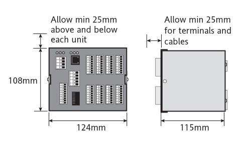 0PRG Eurotherm Invensys Profibus Mini8 Mehrkanal-PID-Regler ACQ
