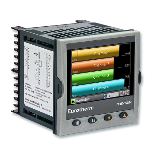 nanodac™ Recorder / Controller | Eurotherm by Schneider Electric