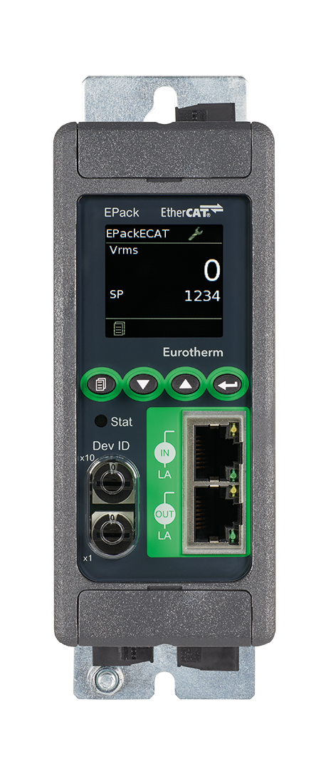 EPack TM compact SCR power controller Eurotherm Product