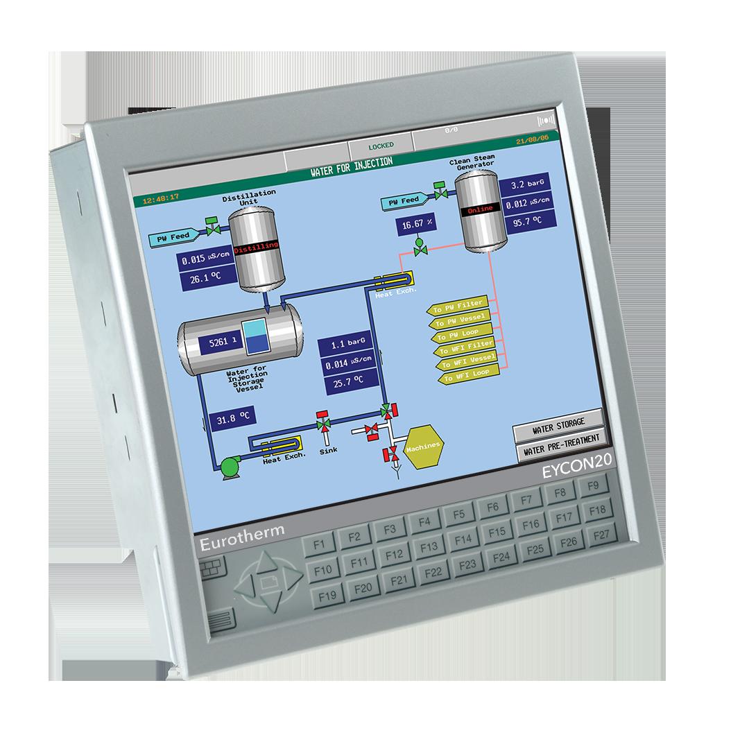 Eycon 10/20 Visual Supervisor Eurotherm Product