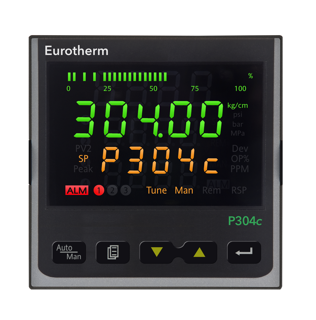 P304 ¼ DIN Melt Pressure Indicator / Controller Eurotherm Product