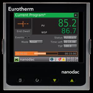 nanodac TM Recorder / Controller Eurotherm Product 3