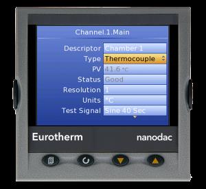nanodac TM Recorder / Controller Eurotherm Product 17