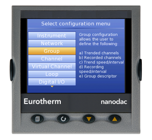 nanodac TM Recorder / Controller Eurotherm Product 18