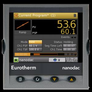 nanodac TM Recorder / Controller Eurotherm Product 5