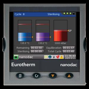 nanodac TM Recorder / Controller Eurotherm Product 1