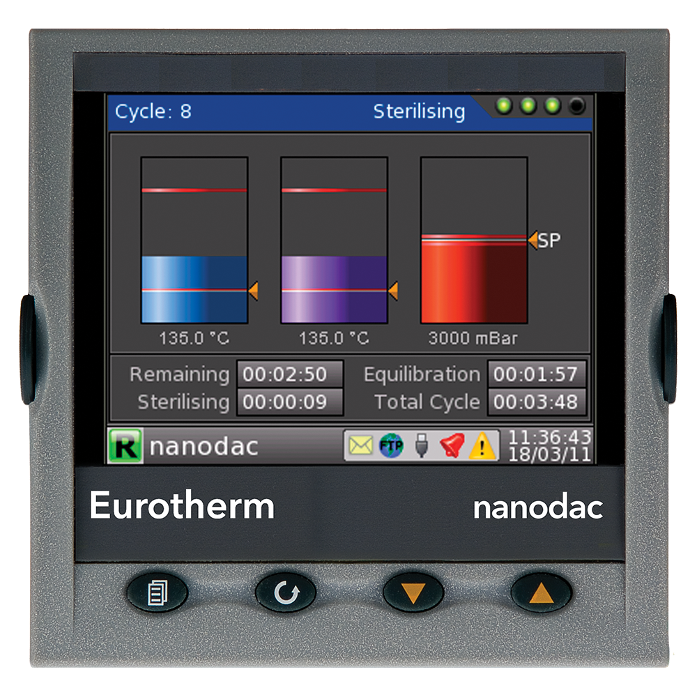 nanodac TM Recorder / Controller Eurotherm Product